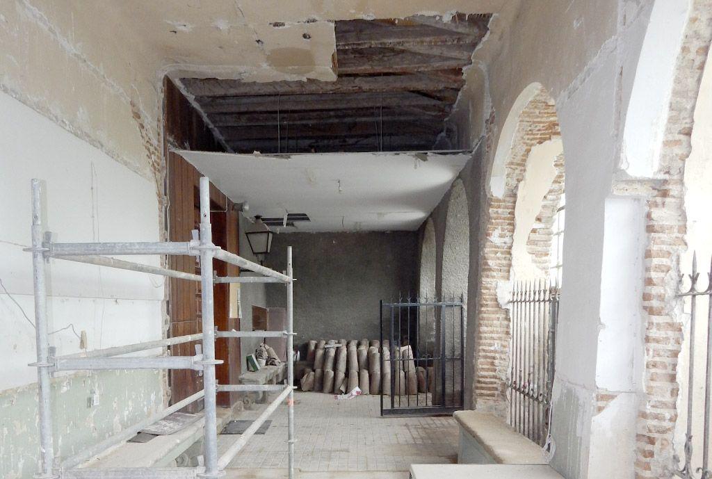 Demolición parcial de edificación