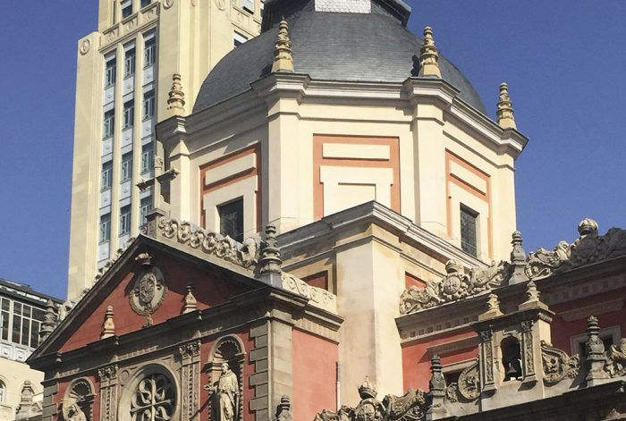 Rehabilitacion iglesias - Las Calatravas en Madrid por Acerouno.