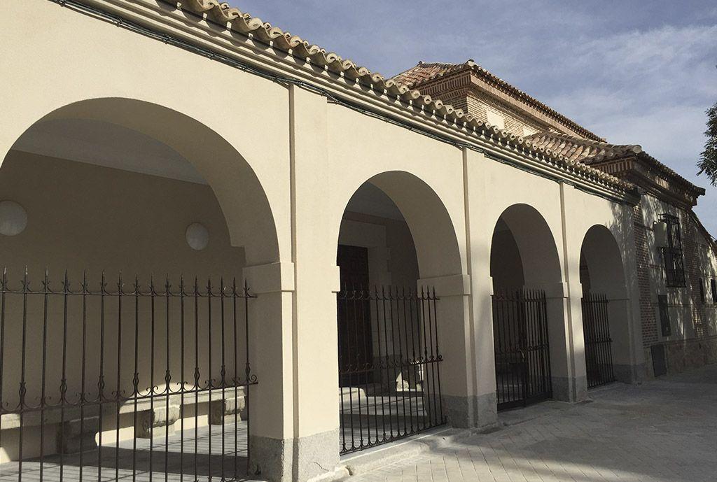 rehabilitación de arcos ermita de san blas