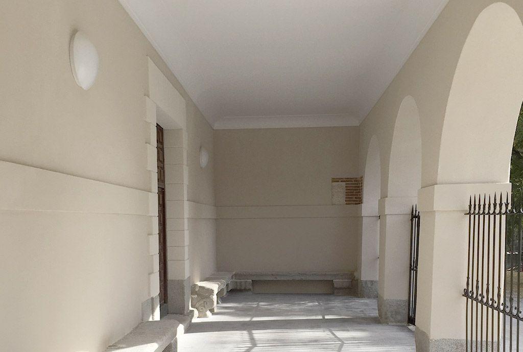 Rehabilitación de portico iglesia - Acerouno