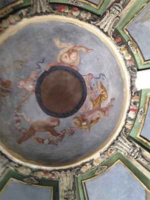 Restauración de cúpula realizada por Acerouno