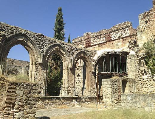 Restauració en monasterio de pelayos de la presa